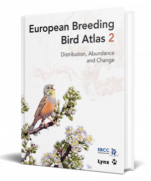 European Breeding Bird Atlas 2 book cover